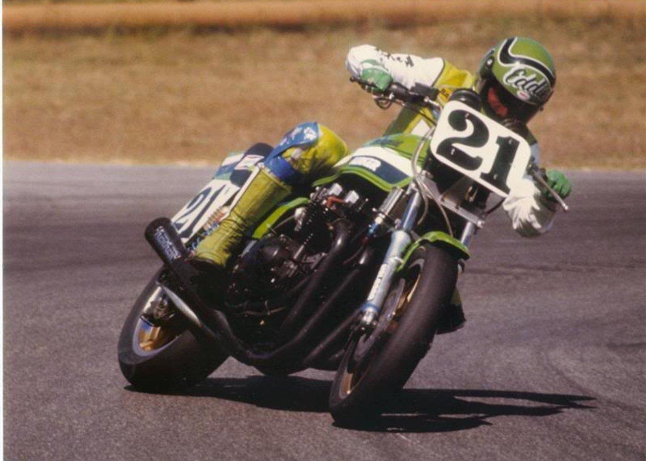 Eddie Lawson Race KZ